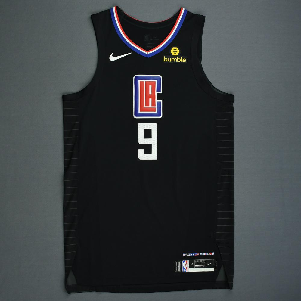 Tyrone Wallace - Los Angeles Clippers - 2019 NBA Playoffs - Game-Worn Black Statement Edition Jersey