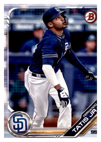 Photo of 2019 Bowman Prospects #BP25 Fernando Tatis Jr.