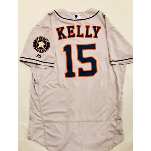 Photo of 2019 Mexico Series - Game-Used Jersey - Don Kelly, Houston Astros at Los Angeles Angels - 5/4/19