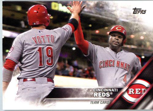 Photo of 2016 Topps #612 Cincinnati Reds