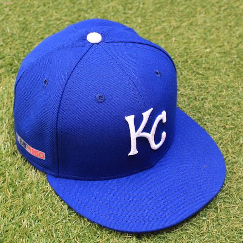 Game-Used Opening Day Cap: Chris Ellis (Size 7 1/4 - CWS @ KC - 3/28/19)