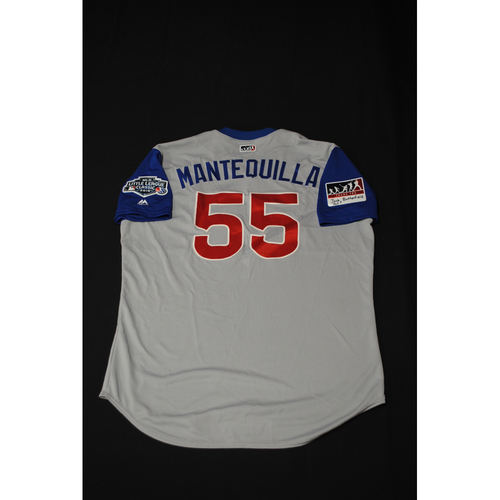 "Photo of 2019 Little League Classic - Game Used Jersey - Brian ""Mantequilla"" Butterfield,  Chicago Cubs at Pittsburgh Pirates - 8/18/2019 (Size - 50)"