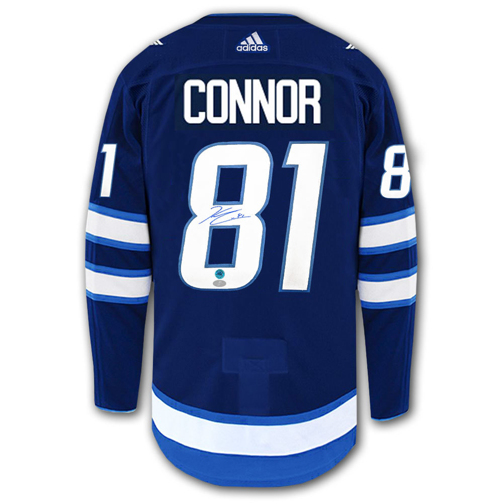 Kyle Connor Winnipeg Jets Adidas Pro Autographed Jersey