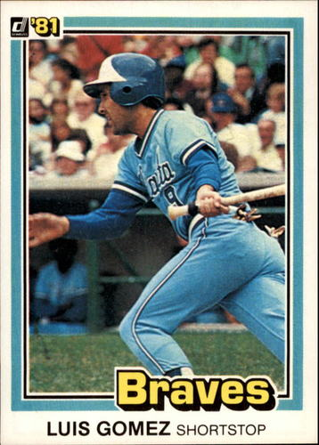 Photo of 1981 Donruss #88 Luis Gomez