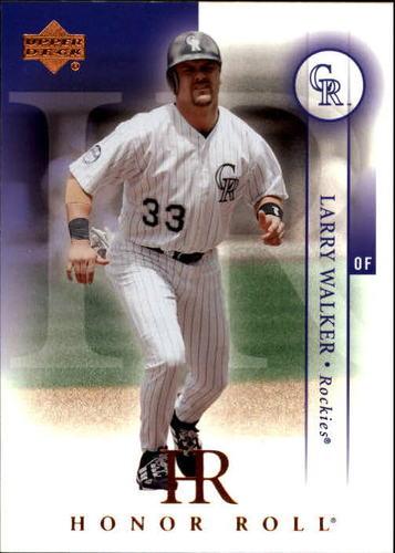 Photo of 2003 Upper Deck Honor Roll #98 Larry Walker