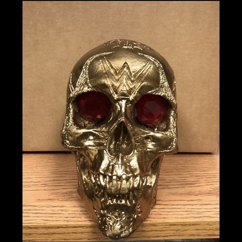 Tom Savini Studios Wrestlemania 36 Exclusive Custom Handmade Skull