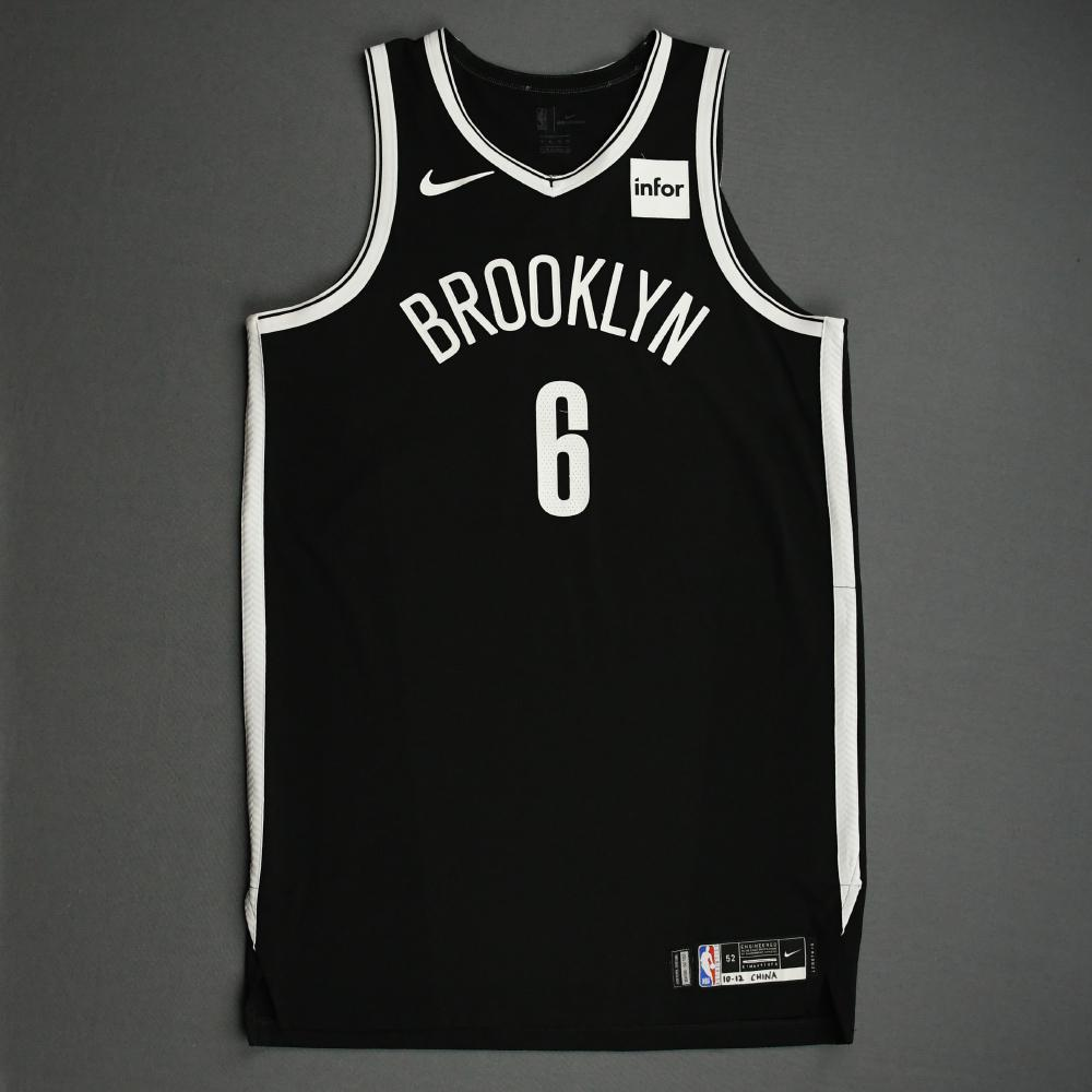 DeAndre Jordan - Brooklyn Nets - NBA China Games - Game-Worn Icon Edition Jersey - 1 of 2 - 2019-20 NBA Season