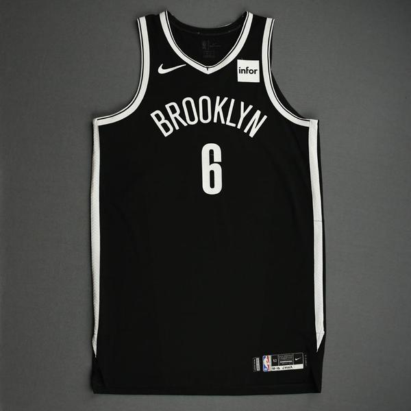 Image of DeAndre Jordan - Brooklyn Nets - NBA China Games - Game-Worn Icon Edition Jersey - 1 of 2 - 2019-20 NBA Season
