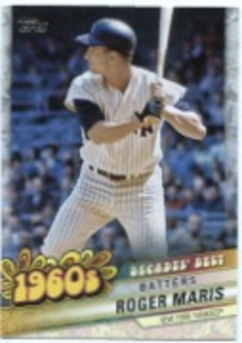 Photo of 2020 Topps Decades' Best Series 2 #DB30 Roger Maris