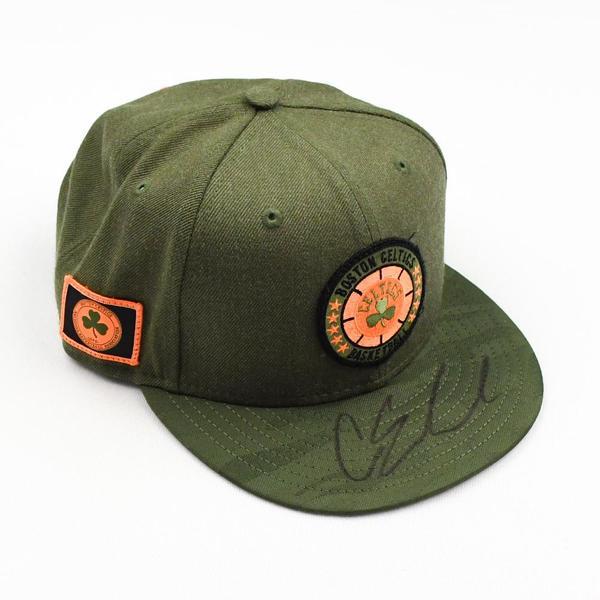 Image of Carsen Edwards - Boston Celtics - 2019 NBA Draft Class - Autographed Hat
