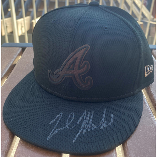 Photo of Nick Markakis Autographed 2019 Players Weekend Hat