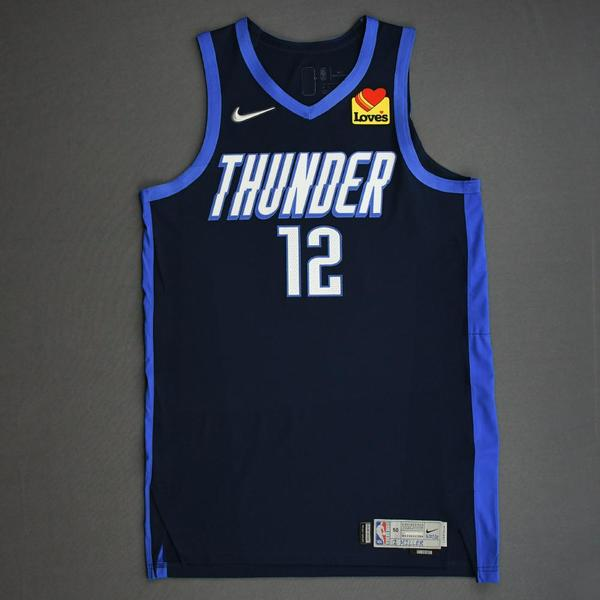 Image of Darius Miller - Oklahoma City Thunder - Game-Worn Earned Edition Jersey - Dressed, Did Not Play (DNP) - 2020-21 NBA Season