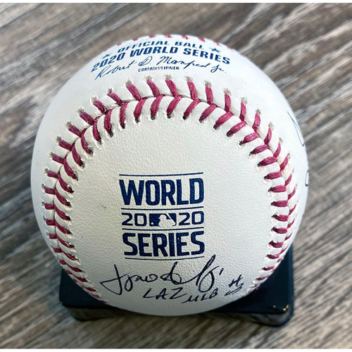 Photo of UMPS CARE AUCTION: Crew Signed Baseball From 2020 World Series
