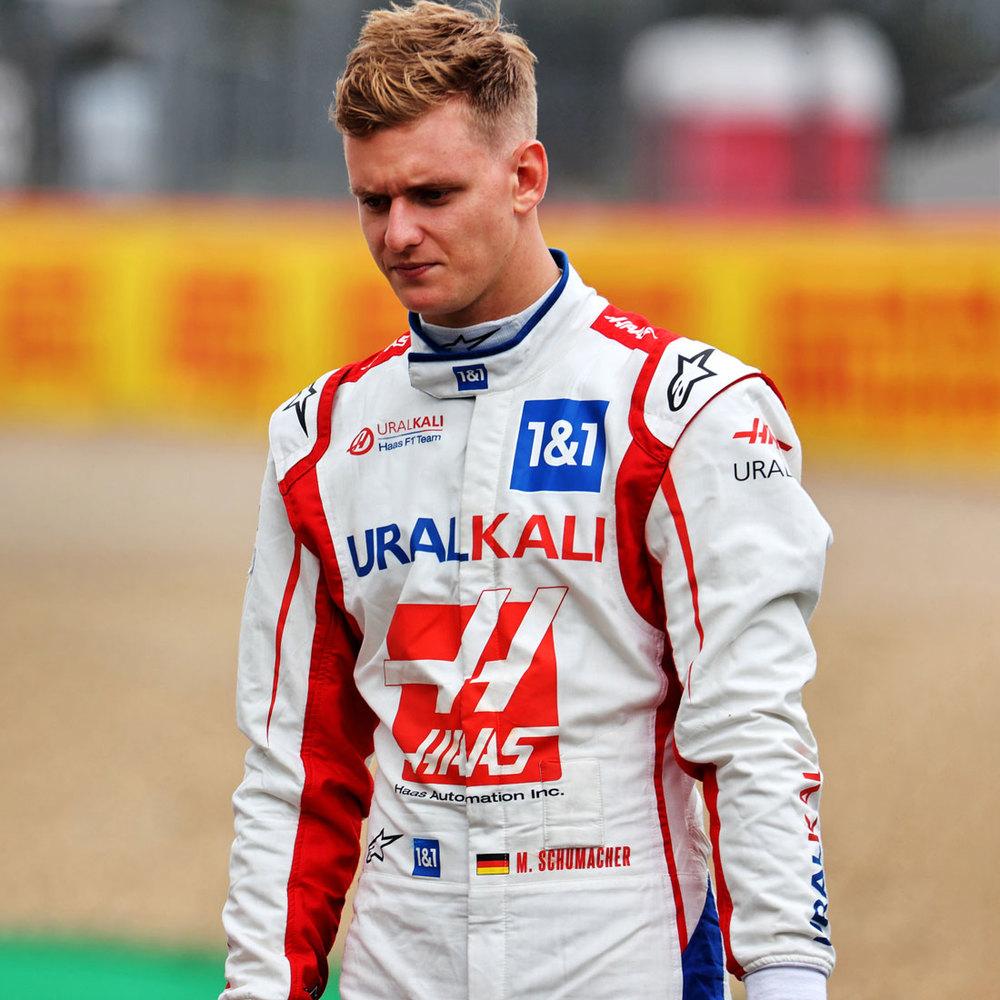 Mick Schumacher 2021 Signed Race Used Race Suit - Italian GP