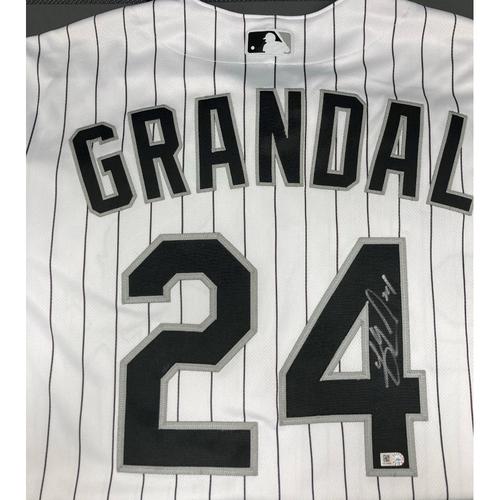 Photo of Yasmani Grandal Autographed Jersey - Size 46