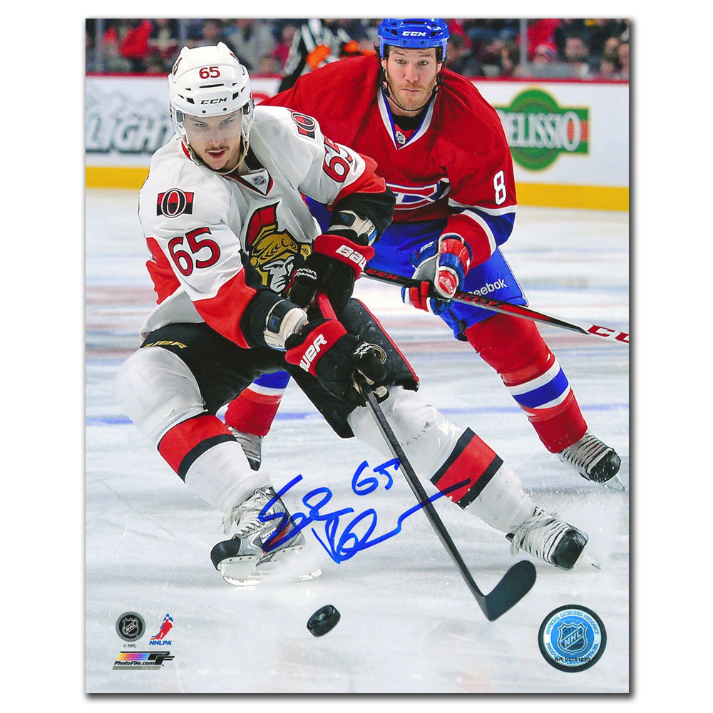 Erik Karlsson Ottawa Senators DEFENDER Autographed 8x10