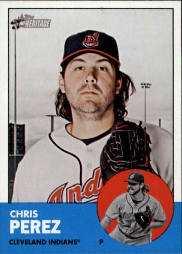 Photo of 2012 Topps Heritage #129 Chris Perez