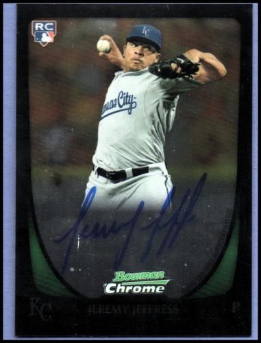 Photo of 2011 Bowman Chrome Rookie Autographs #195 Jeremy Jeffress