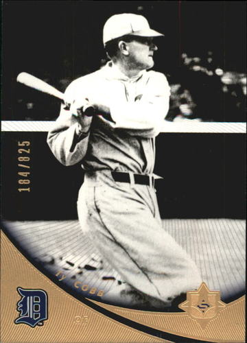 Photo of 2005 Ultimate Signature #44 Ty Cobb