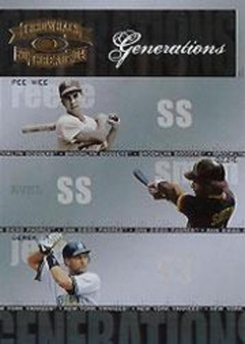 Photo of 2004 Throwback Threads Generations #26 Reese/Ozzie/Jeter