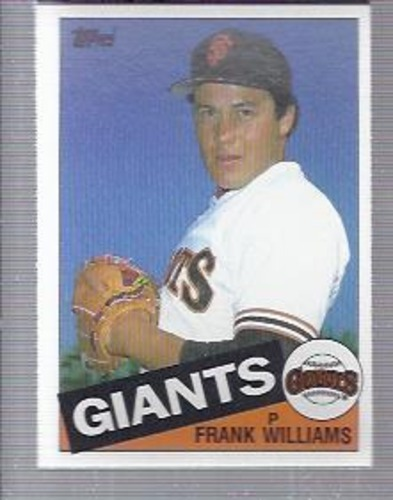 Photo of 1985 Topps #487 Frank Williams