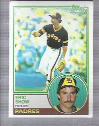 Photo of 1983 Topps #68 Eric Show RC