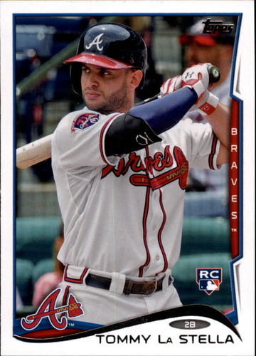 Photo of 2014 Topps Update #US214 Tommy La Stella Rookie Card
