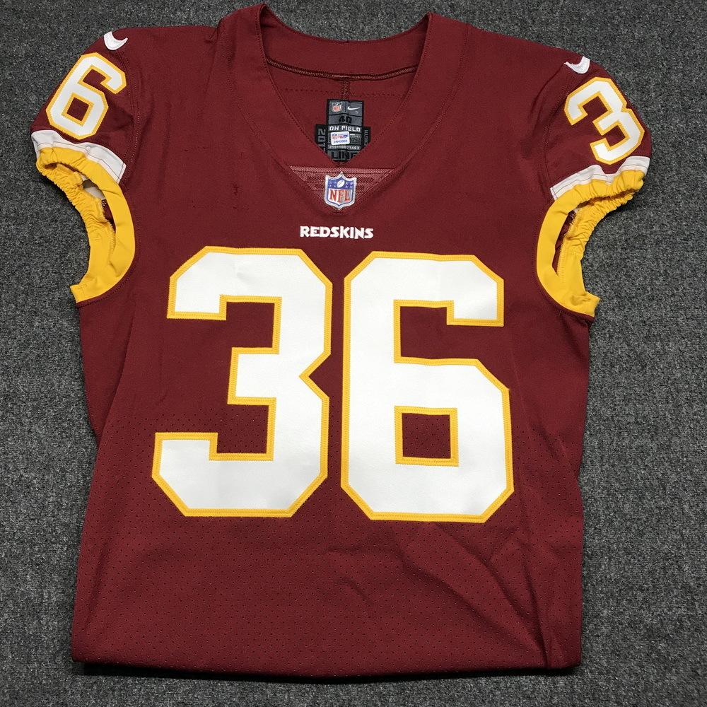 half off 3514d ad96c NFL Auction | STS - REDSKINS D. J. SWEARINGER SIGNED AND ...