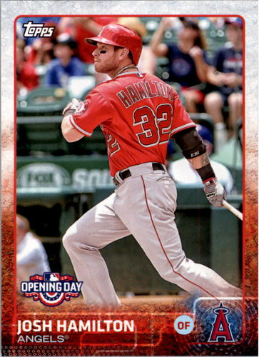 Photo of 2015 Topps Opening Day #87 Josh Hamilton