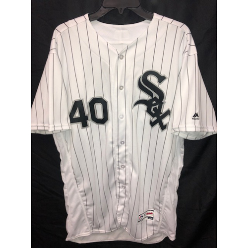 Photo of Reynaldo Lopez Autographed Jersey - Size 46