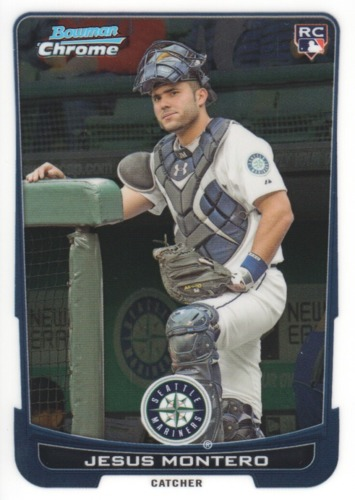 Photo of 2012 Bowman Chrome Draft #30 Jesus Montero RC