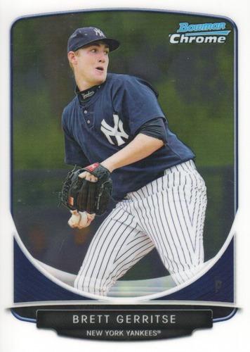 Photo of 2013 Bowman Chrome Prospects #BCP39 Brett Gerritse