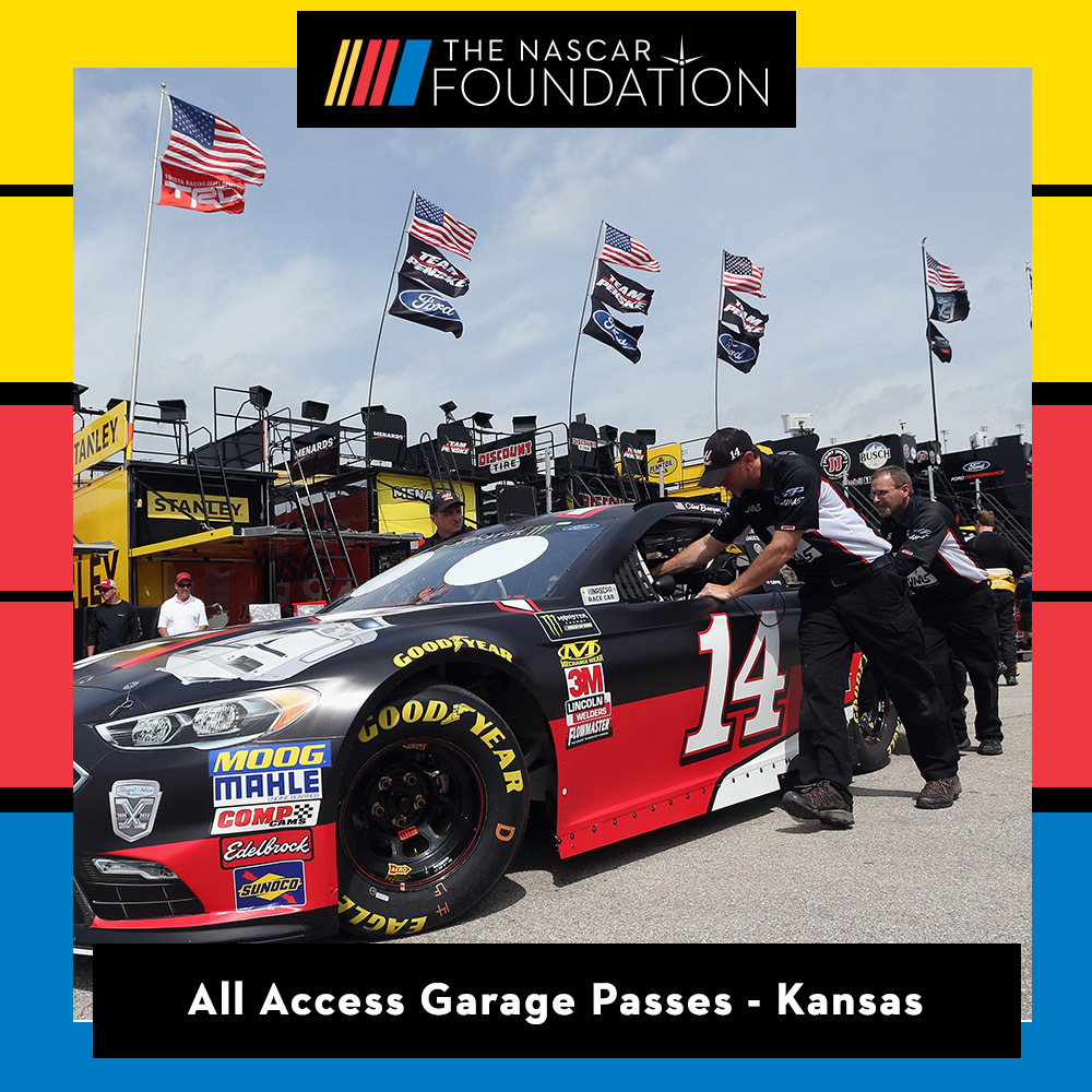 All Access Garage Passes at Kansas!