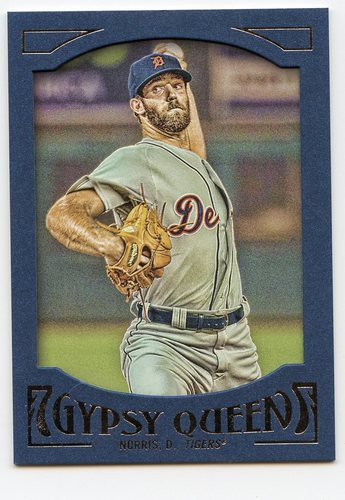 Photo of 2016 Topps Gypsy Queen Framed Blue #99 Daniel Norris