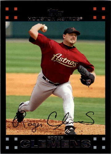 Photo of 2007 Topps #340 Roger Clemens