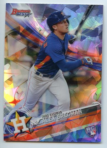 Photo of 2017 Bowman's Best Atomic Refractors #54 Alex Bregman