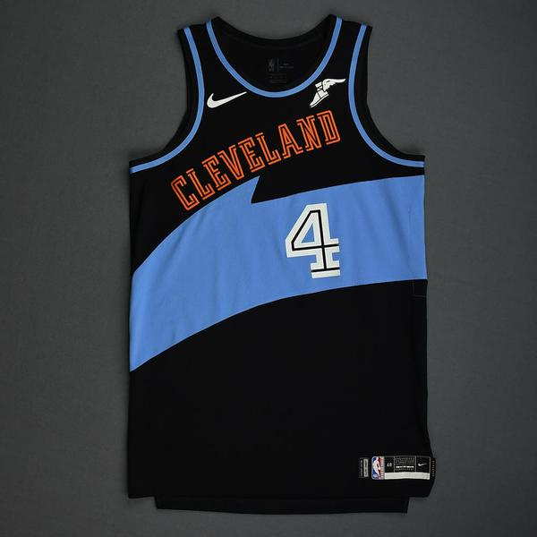 Image of Kevin Porter Jr. - Cleveland Cavaliers - Game-Worn Classic Edition 1994-96 Road Jersey - 30th Overall 2019 NBA Draft Pick - 2019-20 Season