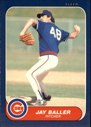 Photo of 1986 Fleer Update #7 Jay Baller XRC