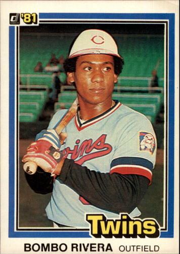 Photo of 1981 Donruss #593 Bombo Rivera