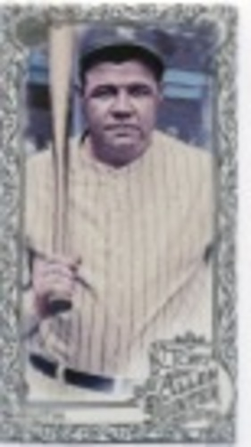 Photo of 2019 Topps Allen and Ginter Mini Gold Border #3 Babe Ruth