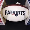 Patriots - Julian Edelman Signed Panel Ball with Patriots Logo (Slight Ink Bleed)