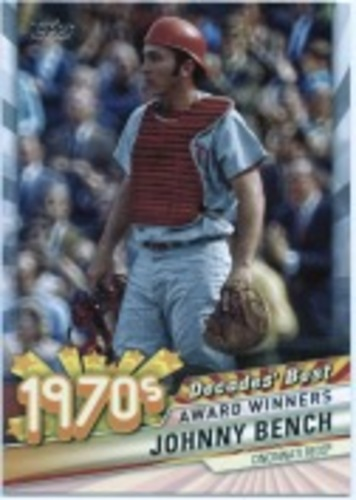 Photo of 2020 Topps Decades' Best Series 2 #DB34 Johnny Bench