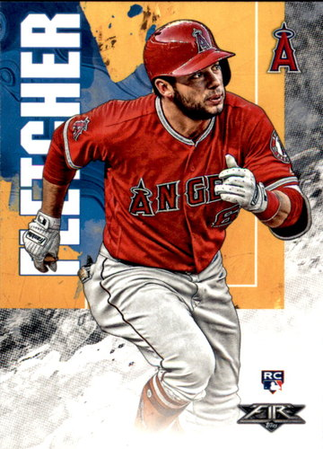 Photo of 2019 Topps Fire #87 David Fletcher RC