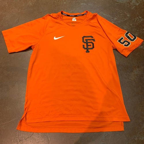 Photo of 2021 Team Issued T-Shirt - #50 Jose Alvarez - Size L