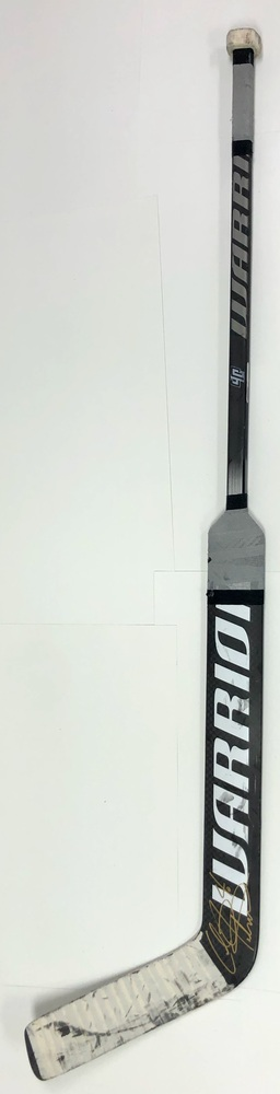 #40 Calvin Petersen Game Used Stick - Autographed - Los Angeles Kings