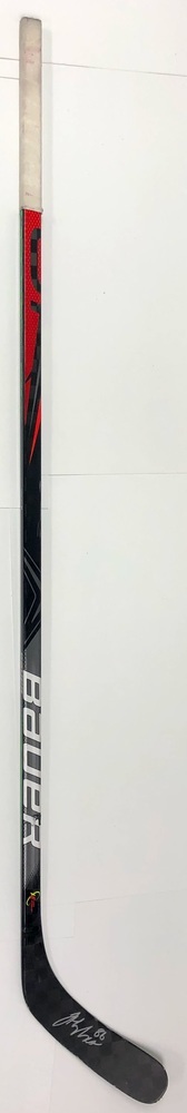#86 Jack Hughes Game Used Stick - Autographed - New Jersey Devils