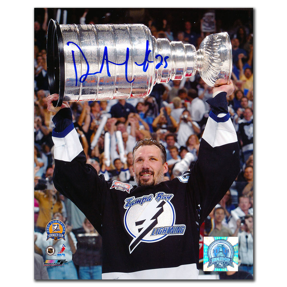 Dave Andreychuk Tampa Bay Lightning 2004 Stanley Cup Autographed 8x10