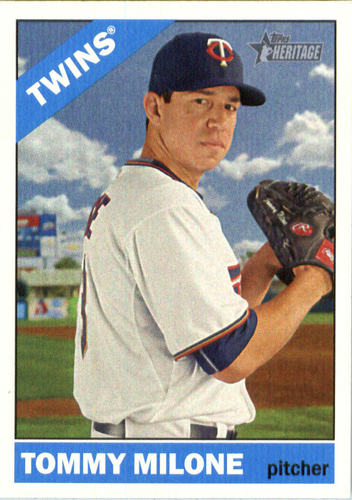 Photo of 2015 Topps Heritage #577 Tommy Milone