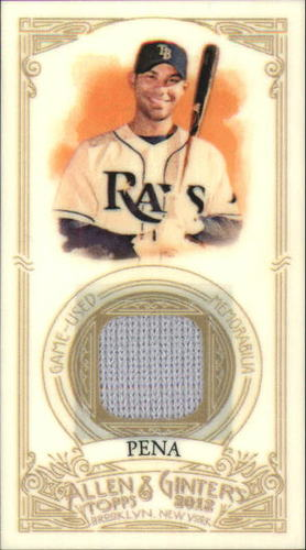 Photo of 2012 Topps Allen and Ginter Relics #CP Carlos Pena
