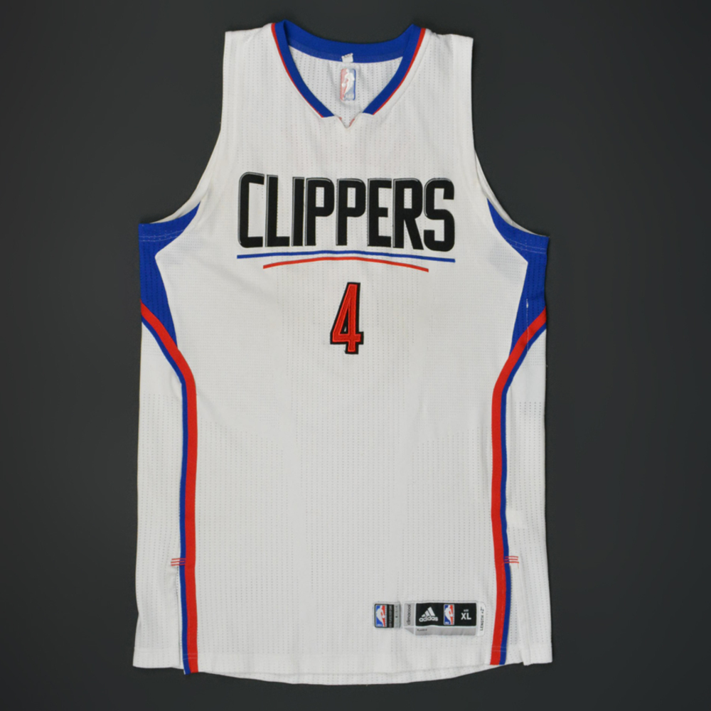 the latest 90ee0 4950a JJ Redick - Los Angeles Clippers - Game-Worn Jersey - 2015 ...